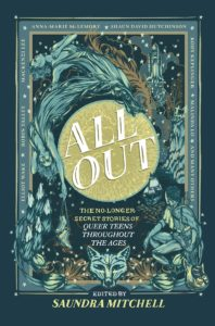 Book cover of All Out ed. by Saundra Mitchell